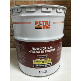 Petrilac X10 Litros Protector Para Maderas En Exterior