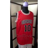 Slam Dunk Camiseta De Basket Shohoku Bordadas S M L Xl