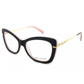 7308fcd7bda2c Armação Para Óculos Preto Grande - Óculos Marrom no Mercado Livre Brasil