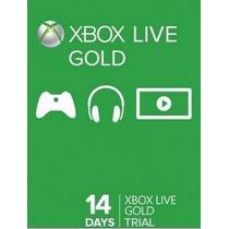 Live Gold 14 Dias Xbox 360 E Xbox One - Código De 25 Dígitos