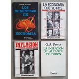 De Pablo, Ribas, Otros. Inflación, Ministros Economía Lote