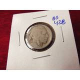 Bb#428 Usa Five Cent Buffalo Indio Americano