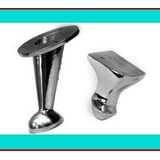 Patas De Aluminio Bocha - Stylo Para Sillones Y Muebles