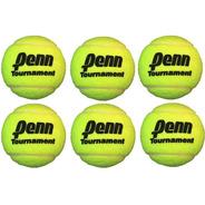 6 Pelotas Penn Tournament Sueltas Granel Tenis Padel Masajes