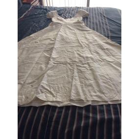 Vestido De Novia De Diseñador. Shantug De Seda. Blanco Perla