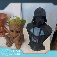Busto Darth Vader Star Wars Action Figure 15cm De Altura