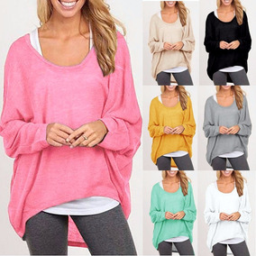 Sweater Pullover Lana Fina Talle Grande Hasta (6 Xl) Usa