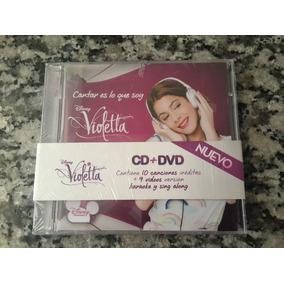 Violetta - Cantar Es Lo Que Soy (cd+dvd)(2012)