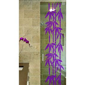 Adesivo Decorativo Parede Box Banheiro Quarto Cozinha Bambu