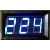 Voltimetro Azul 110 220 380 440 500 Volts Caixa Dijuntor