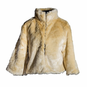 Campera Party Leop Beige Camperas Xl Extra Large