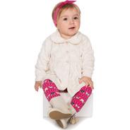 Conjunto Bebê Menina Inverno Calça E Batinha