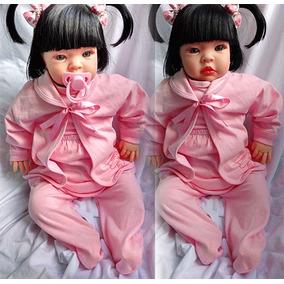 Boneca Bebe Tipo Real Reborn Verdade Pronta Entrega Promoção