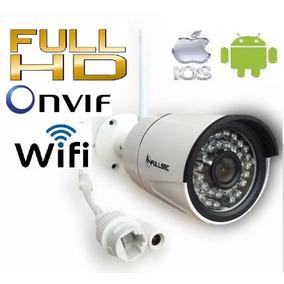 Camera Ip Full Hd Wifi 960p Onvif Externa Ircut 50mt + Fonte