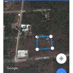 4,500 M2 Terreno En Carretera Uman Tanil En Venta Y Con Luz