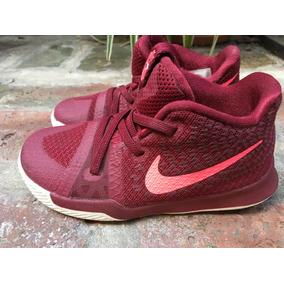 Zapatillas Nike Kyrie 3 Rojas Niño Talle 25,5 Traídas De Usa