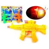 Revolver Pistola De Brinquedo Com Mira Laser Emite Som Luz