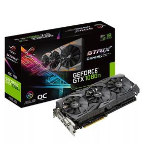 Geforce Gtx Asus Rog Strix 1080ti Oc 11gb Gddr5x 1080 Ti