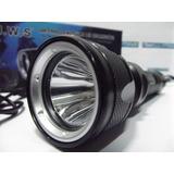 Lanterna Mergulho Top Jws Police 2210000lumens + 2baterias!