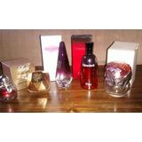 Lote 5 Frascos Vacios Perfumes Importados; Los Mas Lindos!