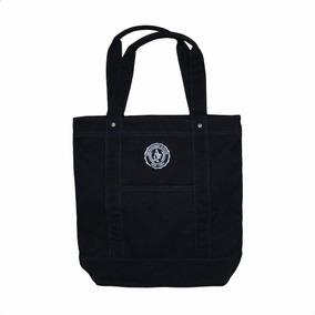 Bolsa Abercrombie & Fitch Azul Com A Logo 100% Original