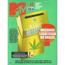 Revista Mtv N 43-sandy E Junior,rita Lee