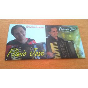 2 Cds Flávio José Grandes Sucessos E Tour 2013 + Frete Gráti