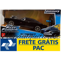 Dodge Charger R/t 70 Fast Furious 1:24 Jada Toys C. Remoto
