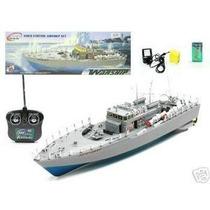 Barco Buque De Guerra Naval Ht-2877 R/c, Escala 1:52