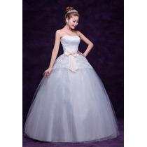 Hermoso Vestido De Novia O Fiesta Envio Inmediato