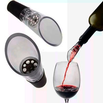 Oxigenador Arejador Decantador De Vinho Bico Salva Gotas
