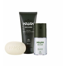 Presente Natura Perfume Kaiak Aventural Kit De Natal
