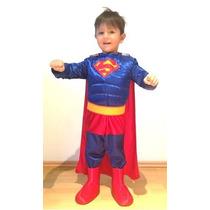 Disfraz Superman Niño Envío Gratis