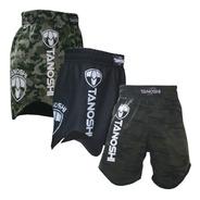 Kit 3 Bermuda Luta Mma Nogi Wrestling Fight Rtx Tanoshi