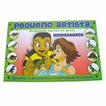 Molde Gesso Pequeno Artista Dinossauros