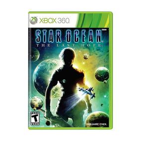 Star Ocean The Last Hope Xbox 360 Novo Lacrado + Brinde