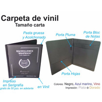 Carpeta T. Carta, Porta Documentos, Graduacion