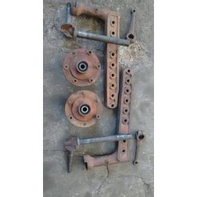 Eixo Dianteiro Completo Do Trator Ford Gasolina De 48 A 56