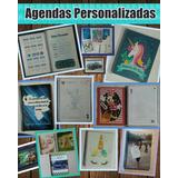 Agenda Libreta Personalizada Unicornio
