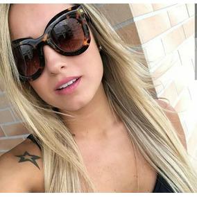 Oculos De Sol Quadrado Feminino Marrom - Óculos no Mercado Livre Brasil 7805da58b4