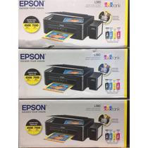 Epson L380 Con Sistema Y Tintas Originales Al Mejor Precio