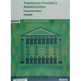 Temario Tramitación Procesal Y Administrativa, Promoción Int