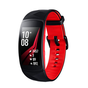 Smartwatch Gear Fit 2 Pro Rojo/negro Grande Wearable Samsung