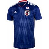 Camiseta Da Seleção Japonesa Japão Azul 2018 adidas