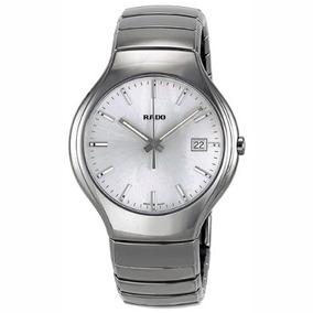 Rado True Platino Cerámica Reloj Unisex R