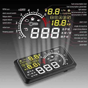 Painel Hud Head Up Veicular Display Velocímetro - Obd2 !!!