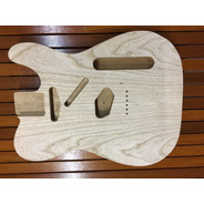 Corpo Guitarra Modelo Tele Top Swamp Ash