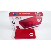Nintendo Ds Lite Mario Bros Edition Cartão Brinde Jogos