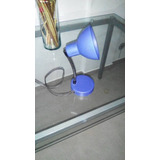 Lampara De Mesa Flexible Color Azul