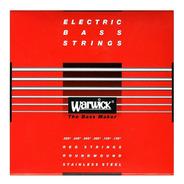 Encordado Para Bajo Warwick  42401 M 6 Cuerdas 025/135
